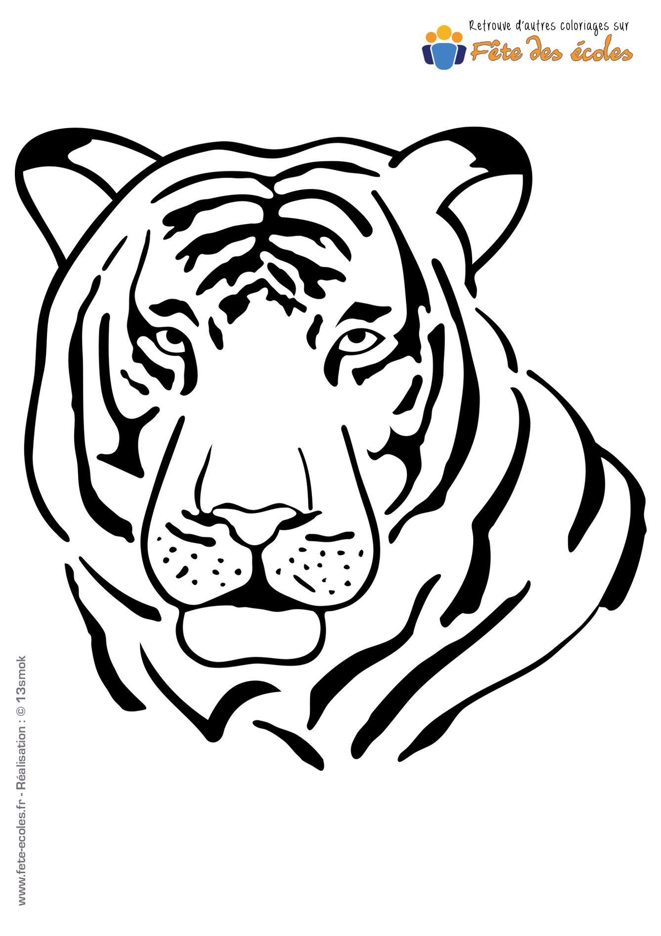 S bastien martin - Image dessin tigre ...