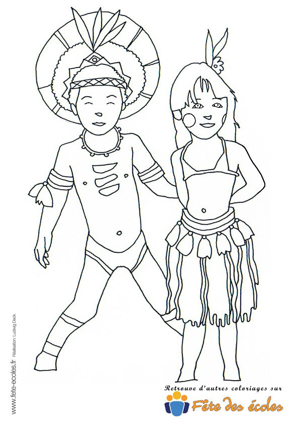 Couple De Danseurs Brésiliens