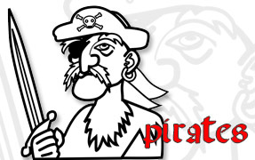 COLORIAGE : Pirates