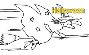COLORIAGE : Halloween
