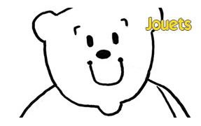 COLORIAGE : Jouets