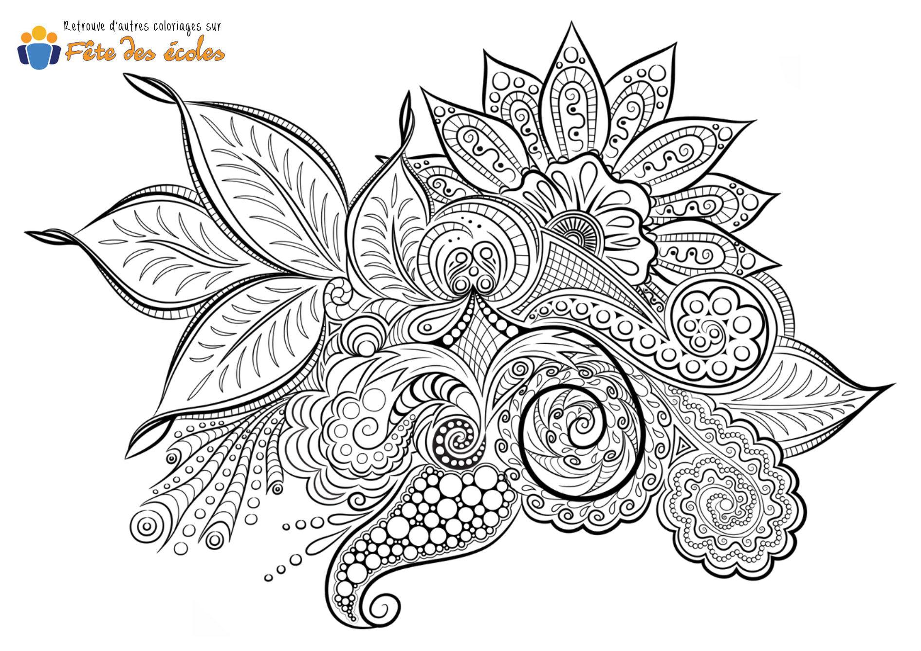 Mandala Zen Fleur