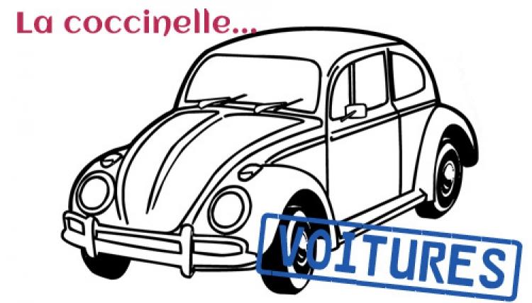 La coccinelle - Coloriage coccinelle voiture ...