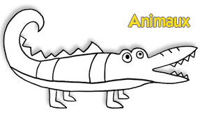 COLORIAGE : Animaux