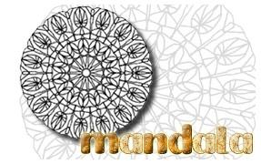 COLORIAGE : Mandala