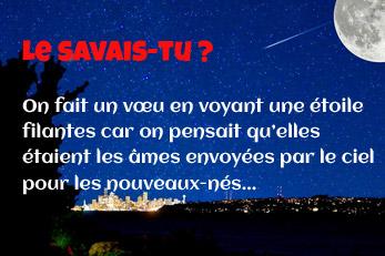 LE SAVAIS-TU ? : Lés étoiles filantes