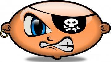 Pourquoi les pirates portent un chache-œil?
