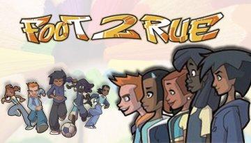 Coloriages dessin animé Foot 2 Rue